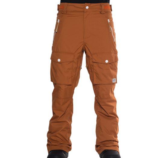 n1shop-Snowboardove-kalhoty_Pánské snowboardové kalhoty Colourwear Flight Pant Adobe