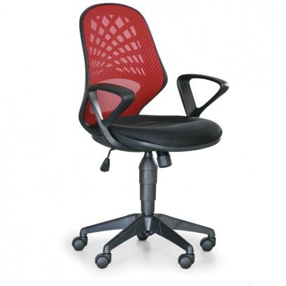 kancelarska-zidle-fler-1-1-zdarma-cervena-default